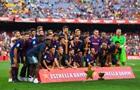 Барселона - перший іспанський клуб, який зіграє з чемпіонською нашивкою