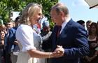 Путін відвідав весілля глави МЗС Австрії