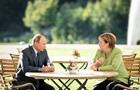 Путін і Меркель обговорили Україну і Nord Stream