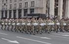 Появилось видео репетиции военного парада на Крещатике