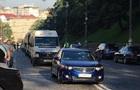 Центр Києва паралізували затори через мітинг  євробляхерів