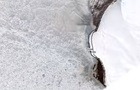 Катастрофичное таяние ледника показали со спутника