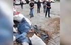 В Николаеве засыпали мусором вход в РГА