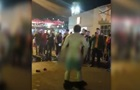 Голый мужчина устроил танцы в центре Днепра