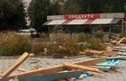 У Житомирській області вітер зірвав дах магазину, є постраждалі