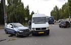 В Николаеве маршрутка с пассажирами столкнулась с другим авто