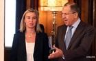 Могеріні і Лавров поговорили про Україну