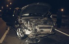 В Киеве разбилось авто на дипломатических номерах