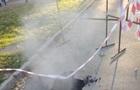 В Киеве второй раз за день прорвало трубу с горячей водой