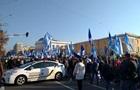 У Києві триває масовий протест профспілок
