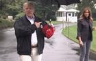 Трамп осоромився, не поділившись парасолькою з дружиною
