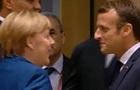 Меркель і Макрона помітили в барі Брюсселя