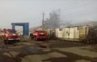 У Харківській області загорілися зерносклади