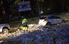 Злива і плаваючі крижини: відео негоди в Римі