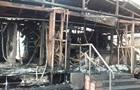 В Одессе сгорело кафе