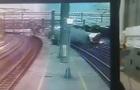З явилося відео аварії потяга на Тайвані