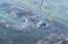У мережі показали знищення позицій сепаратистів з повітря
