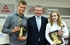 Романчук і Черкасова отримали свої перші нагороди НОК