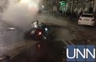 У Києві прорвало трубу з окропом