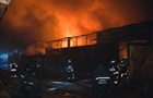 У Києві вночі загорілися склади
