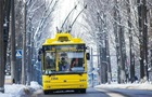 Снегопад в Киеве: транспорт работает с отклонением от графика
