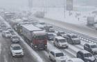 Репетиція зими. Київ зустрів сніг колапсом