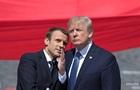 Париж відреагував на критику Трампа в сторону Макрона