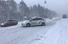 Снегопады в Киеве: число ДТП возросло до 500