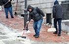 В Киеве от гололеда травмировались почти полсотни человек