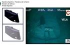 Опубликованы фото затонувшей аргентинской подлодки