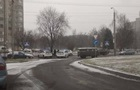 Во Львове полицейский автомобиль попал в аварию