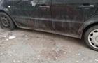 В Киеве порезали шины автомобилей на еврономерах
