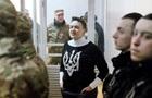 Савченко залишили ще на місяць під арештом