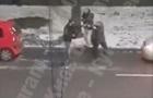 У Києві  бляховоди  влаштували бійку на дорозі