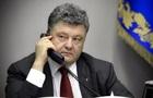 Порошенко обговорив з новою главою ХДС звільнення українських моряків