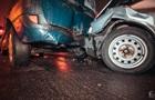 В Киеве столкнулись четыре автомобиля