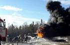 Во Львовской области потушили горящие нефтепродукты