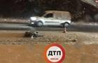 Под Киевом автомобиль насмерть сбил пешехода