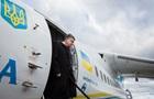ЗМІ: Літак Порошенка везе військовий вантаж з НАТО