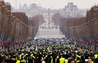 Количество протестующих во Франции уменьшилось