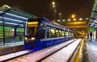 В Киеве продлили ремонт линии скоростного трамвая