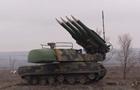 На Донбассе проверили боеготовность комплексов Бук