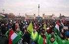 Рабський закон . Тисячі угорців протестують