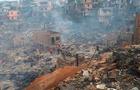 В результате пожара в Бразилии сгорели 600 домов