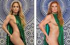 Комік спародіював  голе  фото Дженніфер Лопес