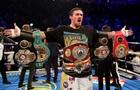 Усик очолив список Forbes як боксер з найбільшим фінансовим потенціалом