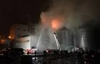 Пожар на заводе возле Львова ликвидировали
