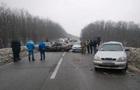 В Харькове произошло ДТП с участием шести автомобилей