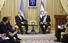 Порошенко зустрівся з президентом Ізраїлю