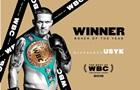Усик - лучший боксер года по версии WBC, Гвоздик стал  открытием года